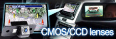 CMOS and CCD Volkswagen reverse parking cameras